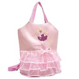 1 Pc Lovely Backpack Portable Embroidery Handbag Versatile D