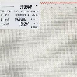 """24 Count Zweigart Congress Cloth Soft Ivory 18"""" x 25"""" counte"""