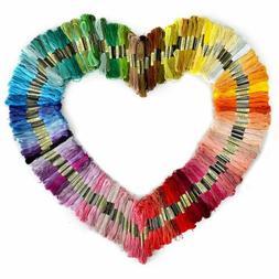 300 Lot Multi Colors Cross Stitch Cotton Embroidery Thread F