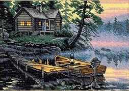 Dimensions 406259 Gold Collection Petite Morning Lake Counte