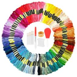 50/100/150 Colors Cross Stitch Cotton Embroidery Thread Sewi