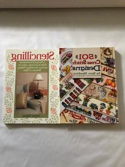 501 Cross Stitch Designs and Stencilling Hardback Books