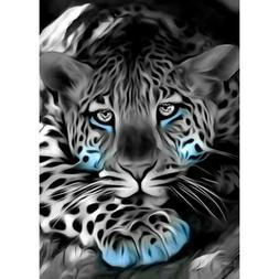 5D DIY Full Drill Diamond Painting Leopard Cross Stitch Kits