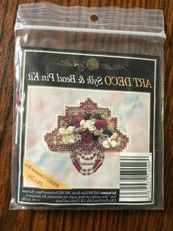 art deco sylk and bead pin kit