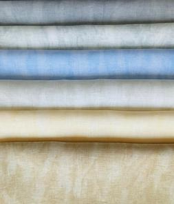 Zweigart Belfast Linen 32 Count Vintage 18 x 27 6 colors Cro