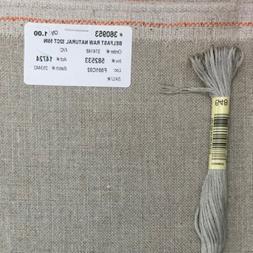Zweigart Belfast linen Raw 32 count cross stitch embroidery