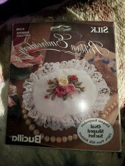 BUCILLA Silk Ribbon Embroidery #41248 Ribbons and Lace Keeps