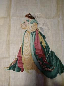 Lavender & Lace c.1989 - Cross Stitch KIT: GUARDIAN ANGEL PA