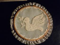 COATS & CLARK  Wood 8 In Wood Embroidery Hoop With Wall Hang