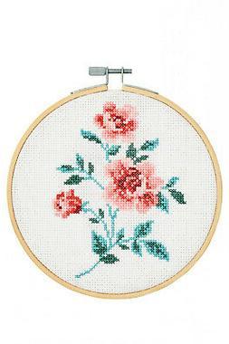 "Counted Cross Stitch ~ DMC ""Stitch Kit"" Collection - Rose #B"