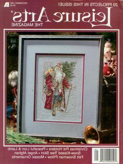 Leisure Arts Cross Stitch & Needlework Magazine - December 1