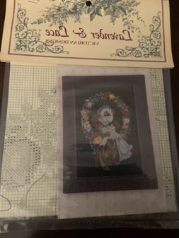 Lavender And Lace Cross Stitch Chart