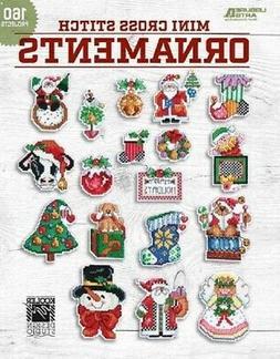 Cross Stitch Pattern Book MINI ORNAMENTS ~ 160 Motifs ~ Sant