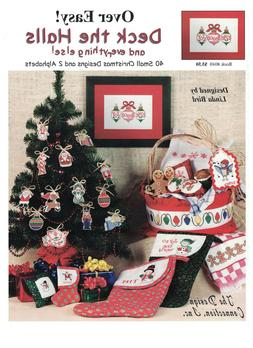 Deck The Halls, And Everything Else Cross Stitch Pattern - N