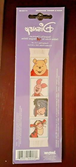 Janlynn Disney Pooh Friends Bookmark 1133-40 Cross Stitch Ki