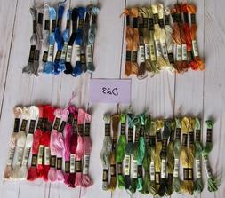 DMC Embroidery Floss Lot of 50 Skeins No Duplicates NOS Crew