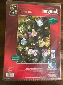 Janlynn Frosty's Ornament Collection Kit Felt Beads Sequin
