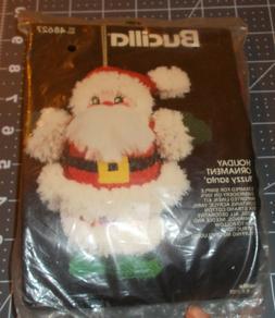 Fuzzy Santa Ornament Kit by Bucilla