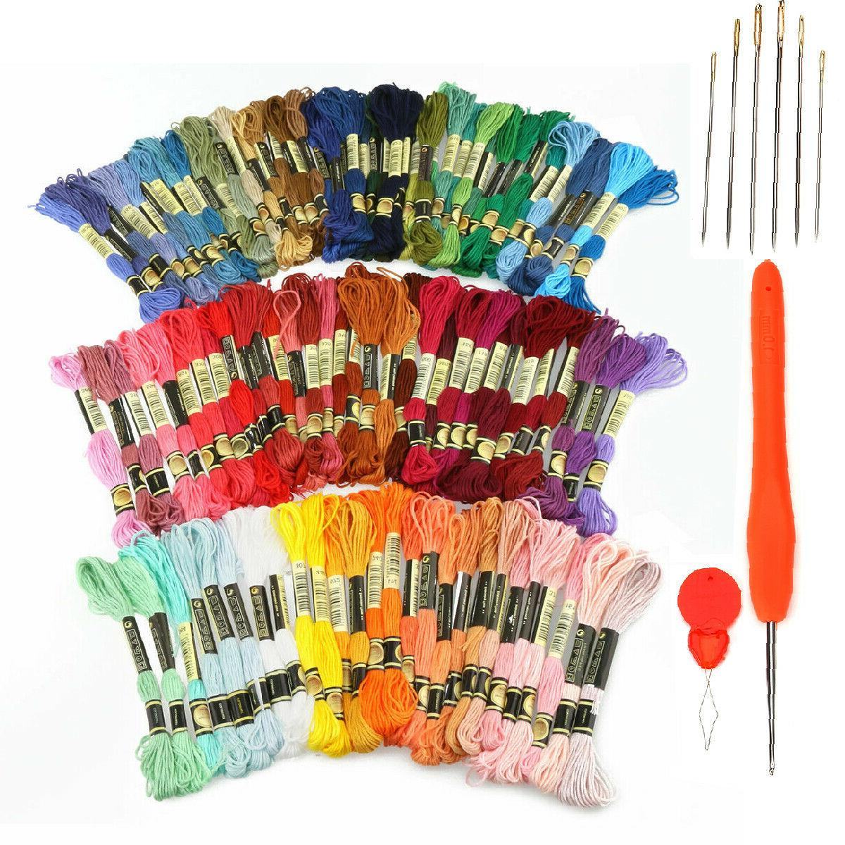 embroidery thread full 120 colors embroidery floss
