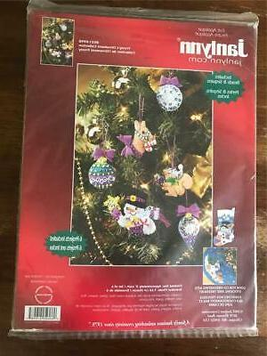 frostys ornament collection kit felt beads sequins