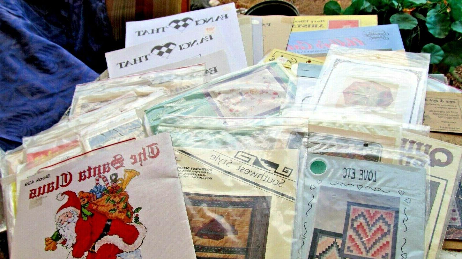 lot 87 cross stitch embroidery sewing crafts