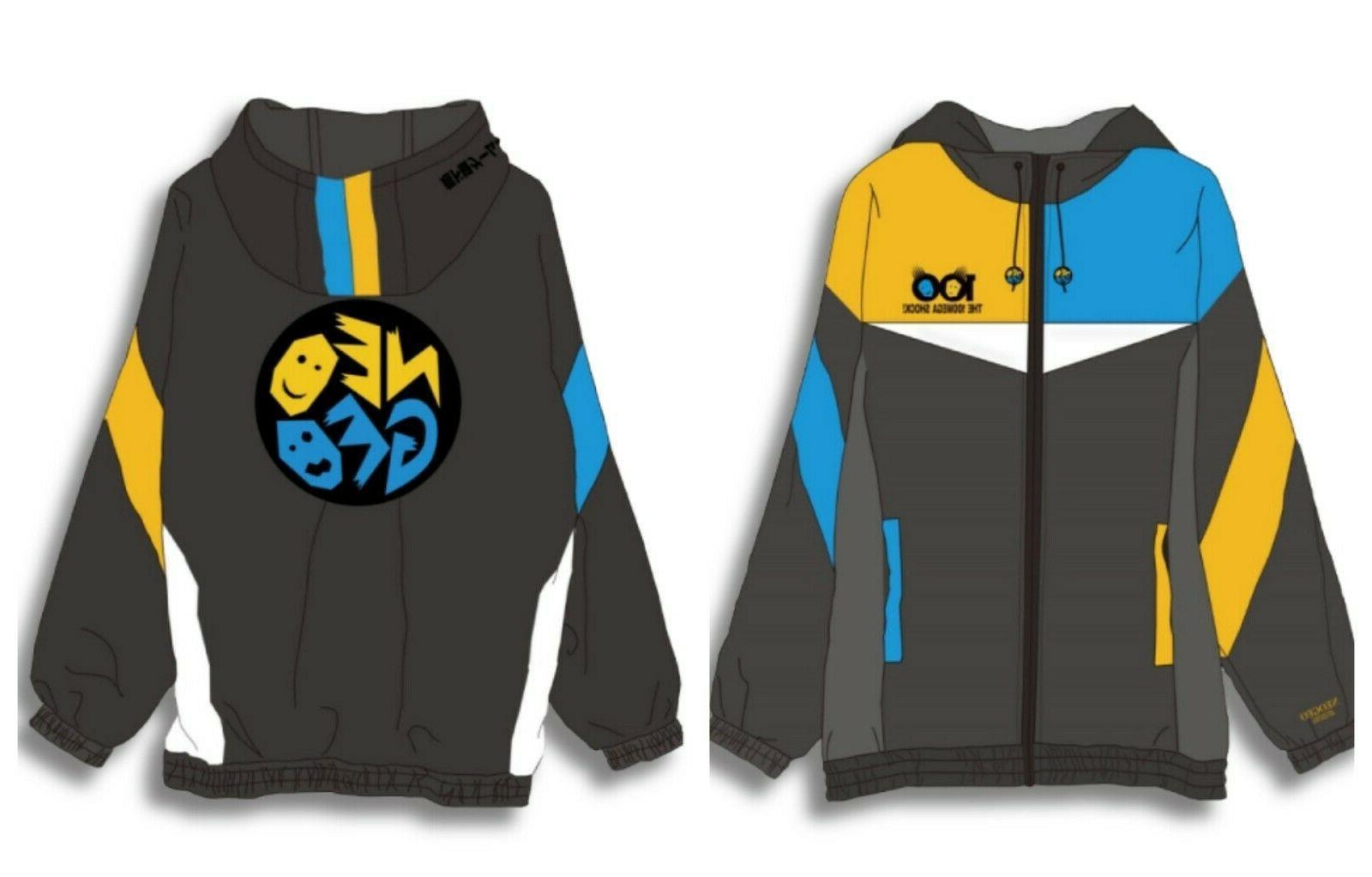 neo geo official windbreaker jacket game logo