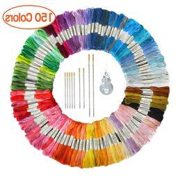 Lot 150 Multi Colors Cross Stitch Cotton Embroidery Thread F