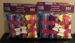 Lot 210 Multi Colors Cross Stitch Cotton Embroidery Thread F