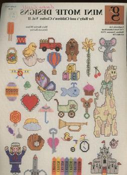 Graphworks Mini Motif Designs for Babies & Children Vol II &