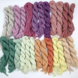 Needlepoint Crewel Yarn 30 Skeins