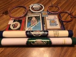 New Vintage Cross Stitch Supplies Lot