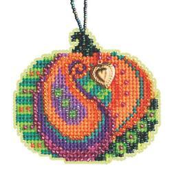 Persian Pumpkin Cross Stitch Kit Mill Hill 2020 Ornament MH1