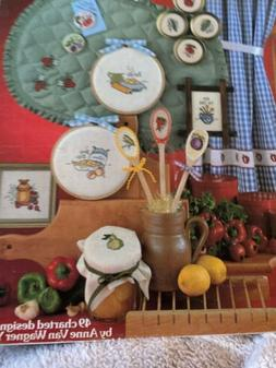Leisure Arts Quick Kitchen Projects Counted Cross Stitch Pat