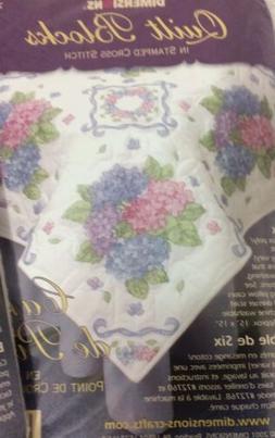 Dimensions Quilt Blocks Stamped Cross Stitch 72771 Hydranger
