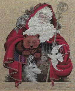 """Lavender and Lace """"Santa of the Forest"""" Complete Materials w"""
