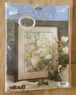 Bucilla Silk Ribbon Embroidery Kit Grazing Sheep