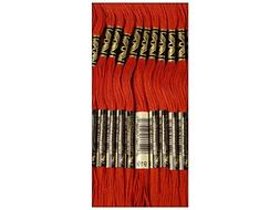 DMC Six Strand Embroidery Cotton 8.7 Yards-Red Copper