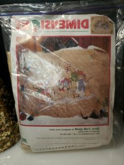 Dimensions Snow Folk Quilt In Stamped Cross Stitch 8636   43