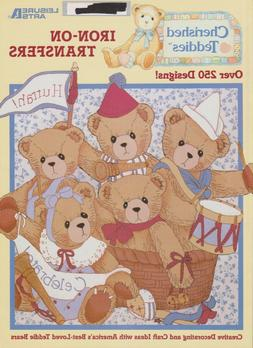 """Soft Covered Book- """"Cherished Teddies"""" Iron-On-Transfers -25"""