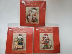 Mill Hill stitched kits Southwestern Santas  MH20-1301 MH20-