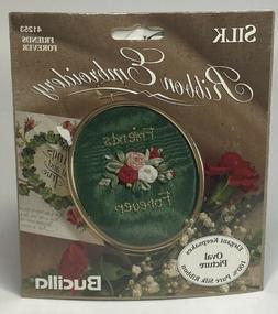 Vintage 90's Bucilla Friends Forever Silk Ribbon Embroidery