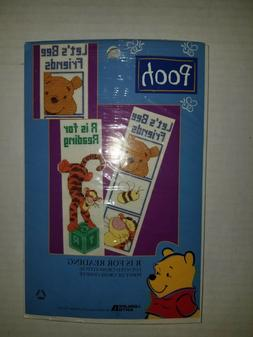 VINTAGE NEW POOH'S TIGGER COUNTED CROSS STITCH R IS FOR RE