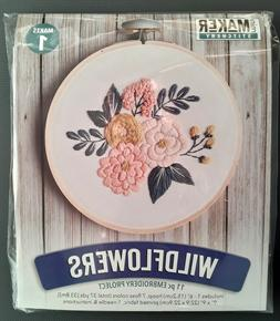 'Wildflowers' Embroidery Kit