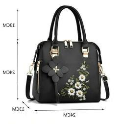 Women's Latest Handbag Casual Fashion Embroidery Messenger B