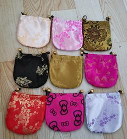 Womens Chinese Style Mini Embroidery Bags Jewelry Storage Ba