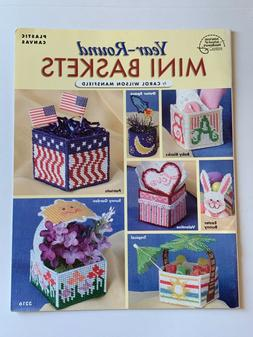 Year Round Mini Baskets Plastic Canvas Pattern Book Easter T